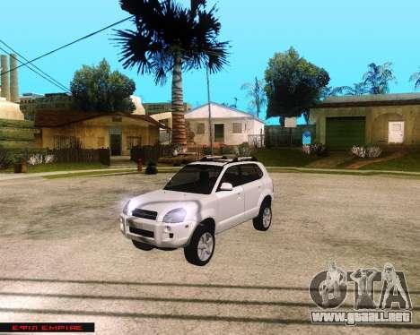 Hyundai Tucson para GTA San Andreas