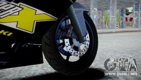 Bike Bati 2 HD Skin 3 para GTA 4 Vista posterior izquierda
