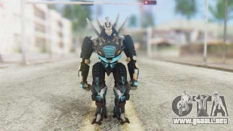 Drift Skin from Transformers para GTA San Andreas segunda pantalla