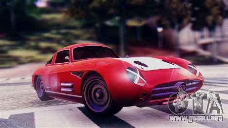 GTA 5 Benefactor Stirling GT para GTA San Andreas