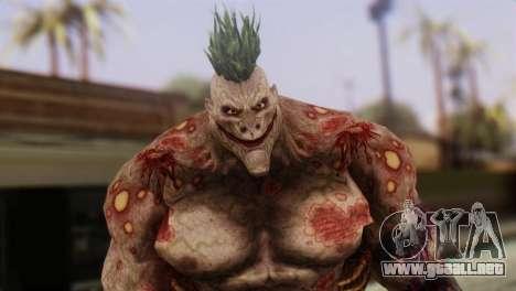 Titan Powered Joker from Batman Arkham Asylum para GTA San Andreas