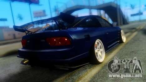 Nissan 180SX Uras Bodykit para GTA San Andreas left
