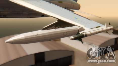 Embraer A-1 AMX FAB para la visión correcta GTA San Andreas