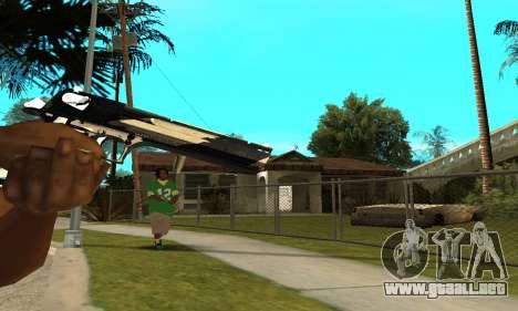 Two Lines Deagle para GTA San Andreas tercera pantalla