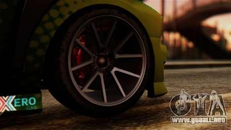 GTA 5 Bravado Buffalo Sprunk IVF para GTA San Andreas vista posterior izquierda