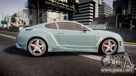 Bentley Continental GT Platinum Motorsports para GTA 4 left