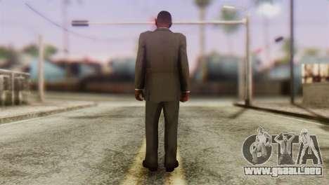 GTA 5 Skin 2 para GTA San Andreas segunda pantalla