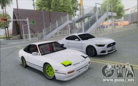 ENB Series Settings for Medium PC para GTA San Andreas segunda pantalla