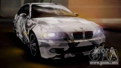 BMW M3 E46 v2 para el motor de GTA San Andreas