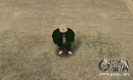 Groove St. Nigga Skin First para GTA San Andreas segunda pantalla