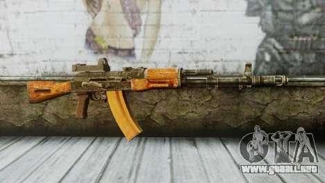 AK-74 Sight para GTA San Andreas