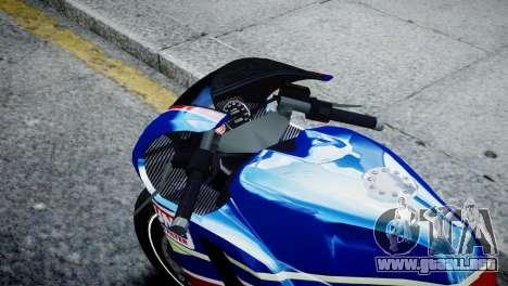Bike Bati 2 HD Skin 2 para GTA 4 visión correcta