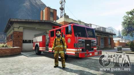 GTA 5 Trabajo en el servicio de bomberos de la v1.0-RC