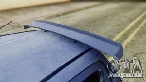 Toyota Aygo Sporting para GTA San Andreas vista hacia atrás