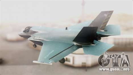 F-35B Lightning II para GTA San Andreas left