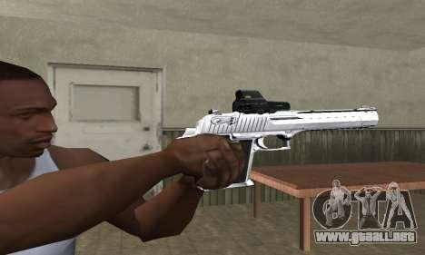 Tiger Deagle para GTA San Andreas segunda pantalla