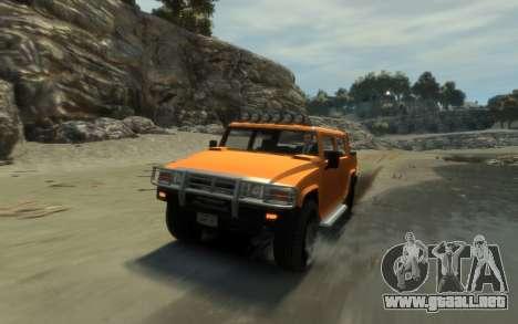 Mammoth Patriot Pickup para GTA 4