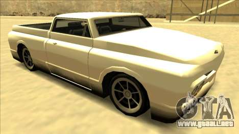 Slamvan Final para vista lateral GTA San Andreas