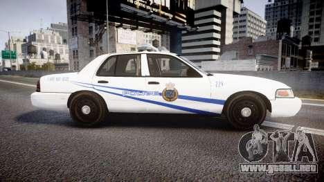 Ford Crown Victoria CNPS [ELS] para GTA 4 left