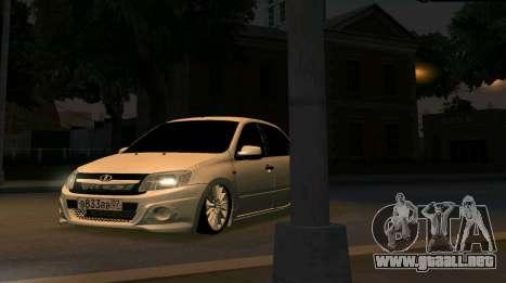 VAZ 2190 Deporte para la visión correcta GTA San Andreas