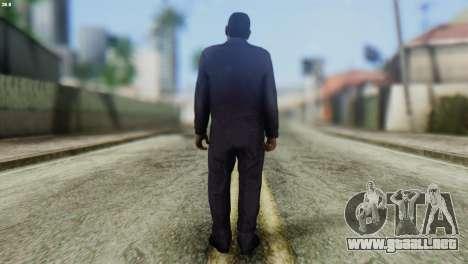 Uborshik Skin from GTA 5 para GTA San Andreas segunda pantalla