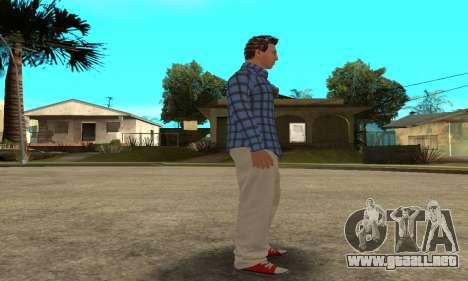 Skin Claude [HD] para GTA San Andreas séptima pantalla