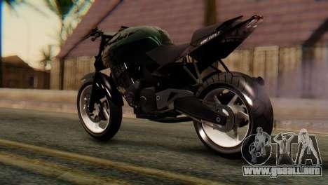 Bajaj Rouser 135 Stunt para GTA San Andreas left