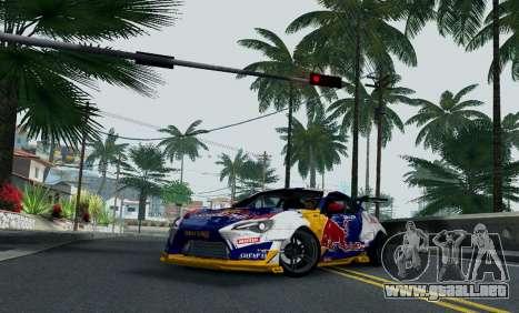 Toyota GT86 Red Bull para la visión correcta GTA San Andreas