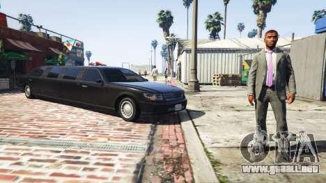 Llame limo v0.6b para GTA 5