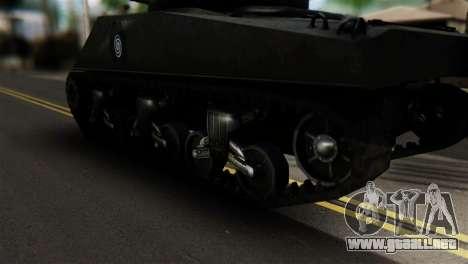 M4 Sherman Gawai Special para GTA San Andreas vista posterior izquierda