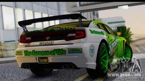 GTA 5 Bravado Buffalo S Sprunk para GTA San Andreas left