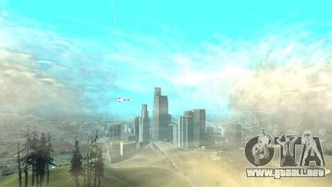 La publicidad de los dirigibles para GTA San Andreas tercera pantalla