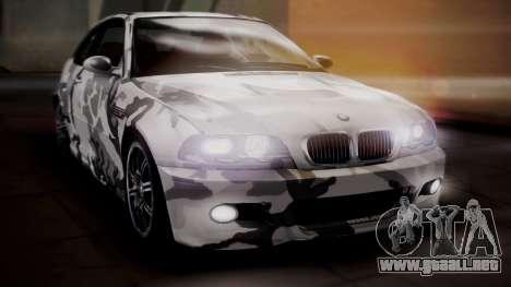 BMW M3 E46 v2 para las ruedas de GTA San Andreas