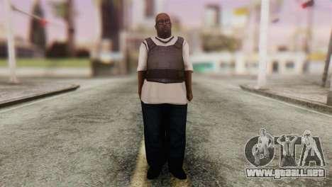 Big Smoke Skin 4 para GTA San Andreas segunda pantalla