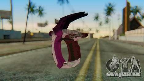 Break Gun para GTA San Andreas segunda pantalla