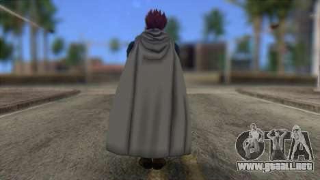 Dragon Ball Xenoverse Mysterious Warrior para GTA San Andreas segunda pantalla