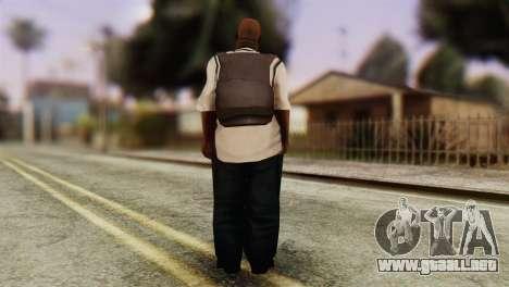 Big Smoke Skin 4 para GTA San Andreas tercera pantalla