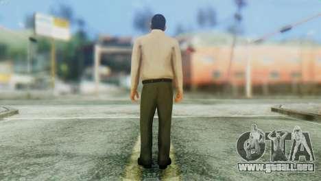 GTA 5 Skin 3 para GTA San Andreas segunda pantalla