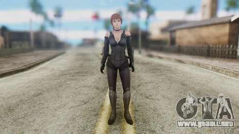 Dead Or Alive 5 Kasumi Ninja Black Costume para GTA San Andreas segunda pantalla
