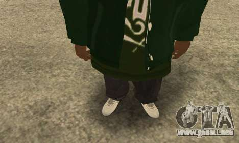 Groove St. Nigga Skin First para GTA San Andreas tercera pantalla