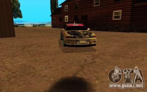 Nissan Skyline R32 RLD para GTA San Andreas left