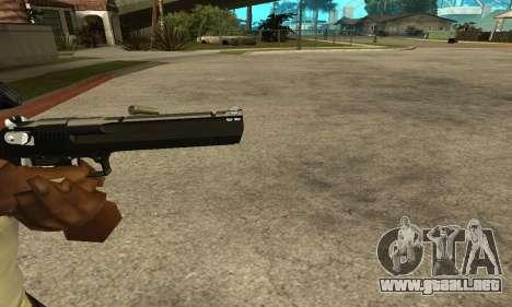 Cool Black Deagle para GTA San Andreas tercera pantalla