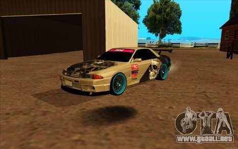 Nissan Skyline R32 RLD para GTA San Andreas