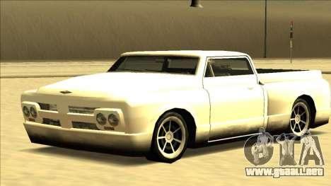 Slamvan Final para la visión correcta GTA San Andreas