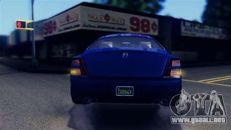GTA 5 Enus Windsor IVF para GTA San Andreas interior