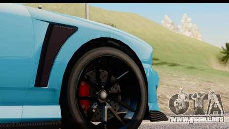 GTA 5 Bravado Buffalo S Sprunk para GTA San Andreas vista hacia atrás