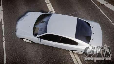 Dodge Charger Traffic Patrol Unit [ELS] bl para GTA 4 visión correcta