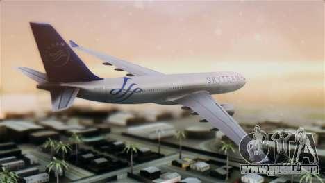 Airbus A330-200 Garuda Indonesia Sky Team para GTA San Andreas left