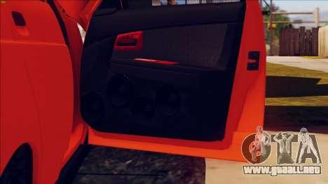 VAZ 2112 Turbo para vista lateral GTA San Andreas