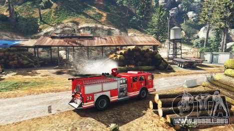 GTA 5 Trabajo en el servicio de bomberos de la v1.0-RC tercera captura de pantalla
